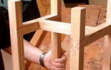 Ремонт стула своими руками